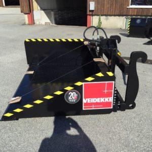 Steinkjer Mekaniske AS ~ NYE Kantrenskskuffa i Hardox 450 Stål • SM2350
