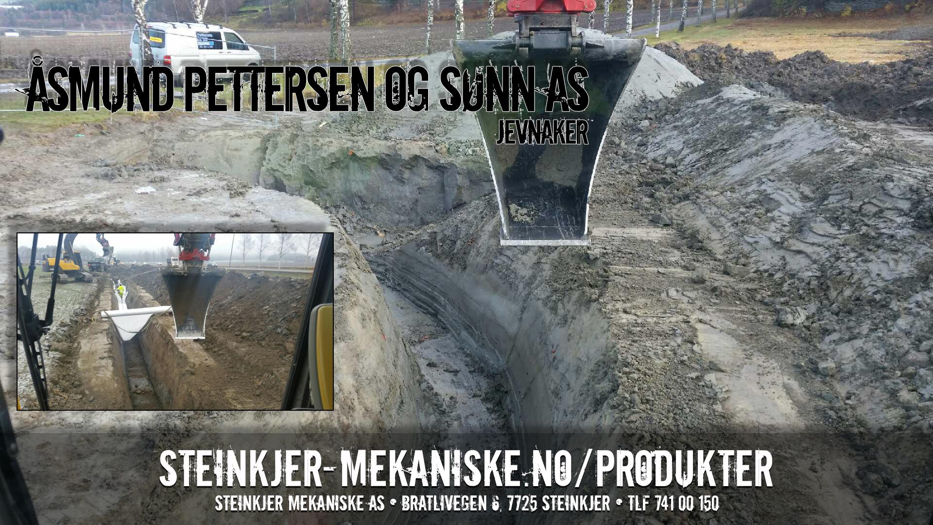Profilskuffe 25T Spesial i Hardox levert ● Fornøyd kunde: Åsmund Pettersen og Sønn AS
