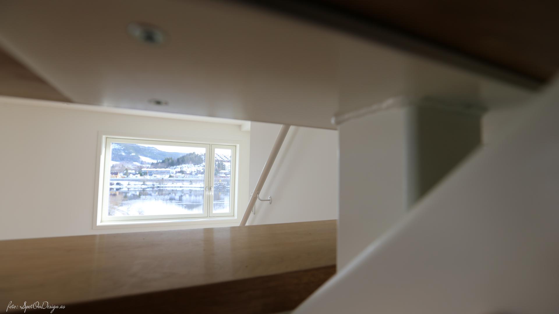 Trappen til fjordutsikt