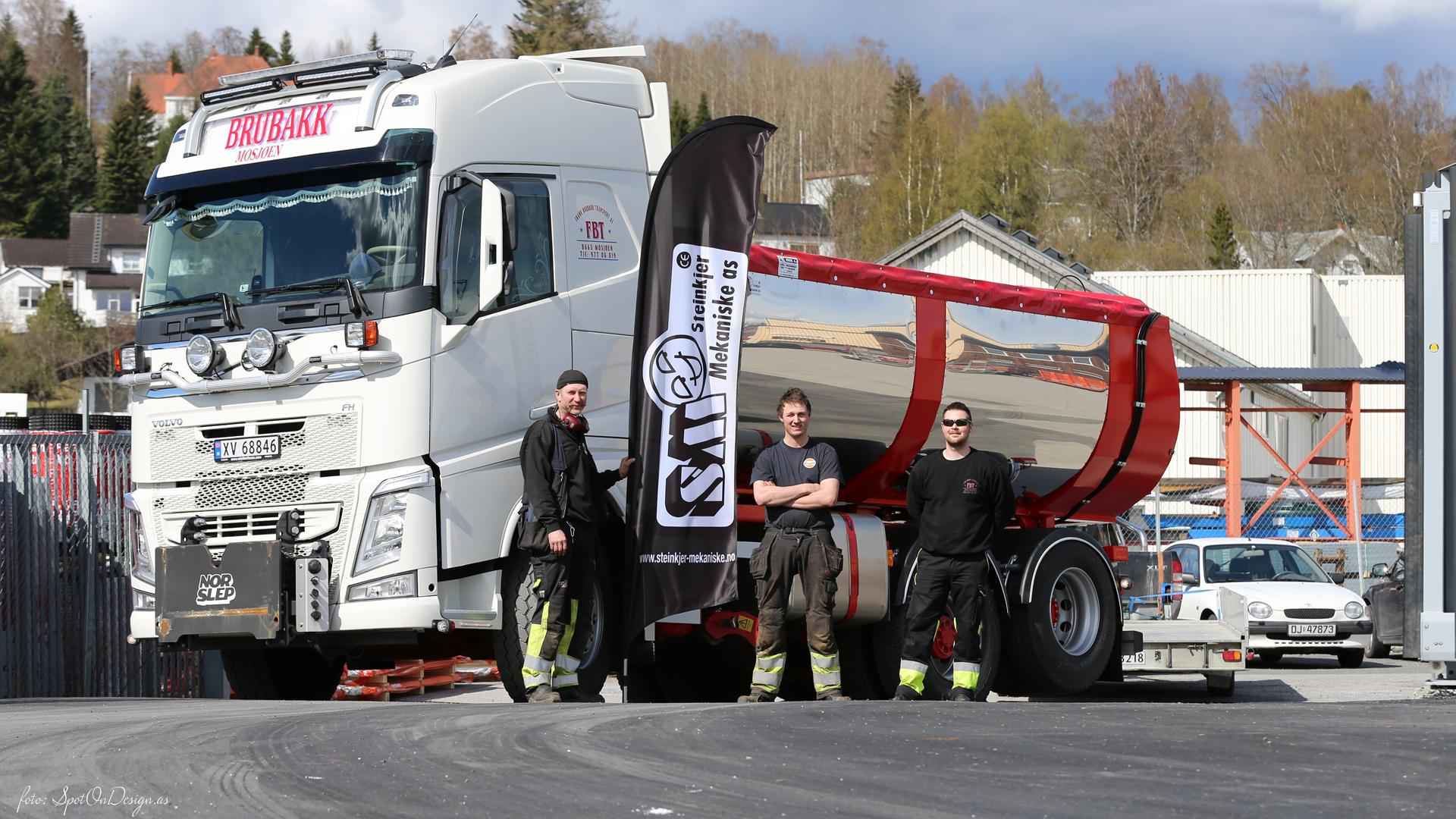 Asfaltbalje/Asfalttraug i Hardox 450 Stål levert · Kunde: Frank Brubakk Transport AS