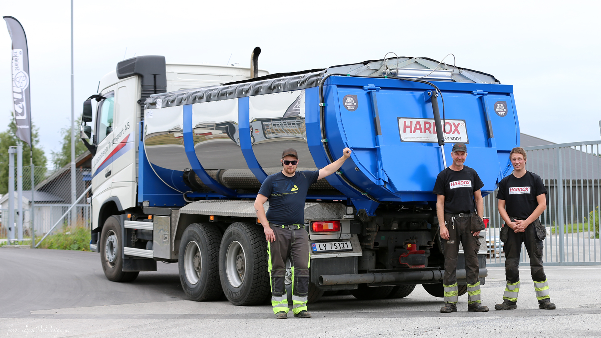 Asfaltbalje/Asfalttraug i Hardox 450 Stål levert · Kunde: J. Jacobsen Transport AS, Mo i Rana